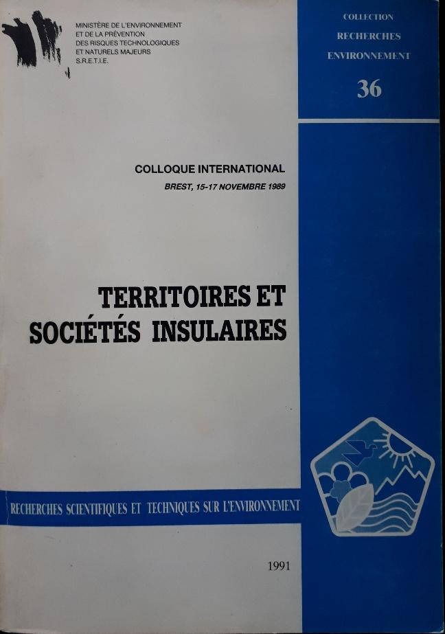 Territoires et societes insulaires