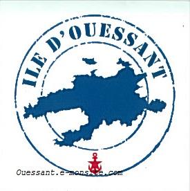 Autocollant Ile d'Ouessant