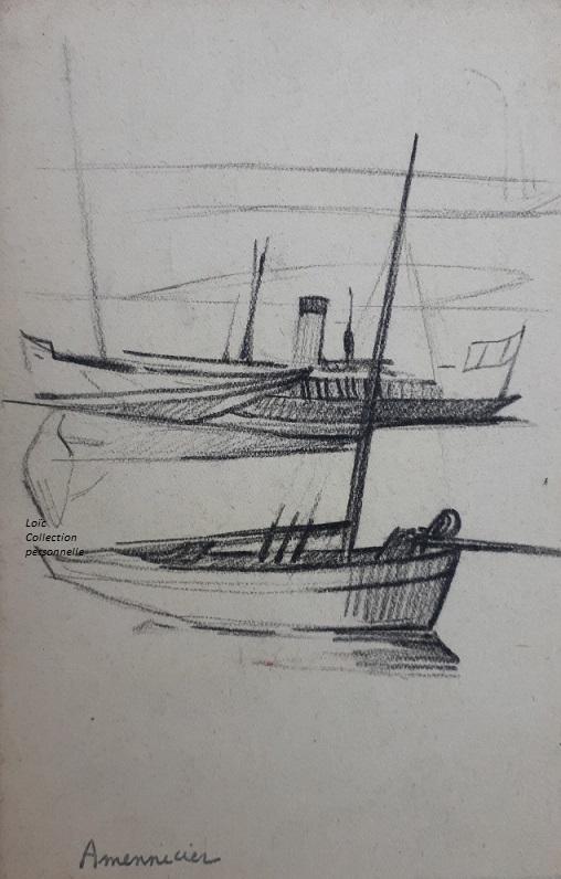 Amennecier dessin 7