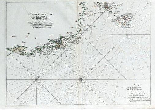Carte Ouessant Neptune Francois