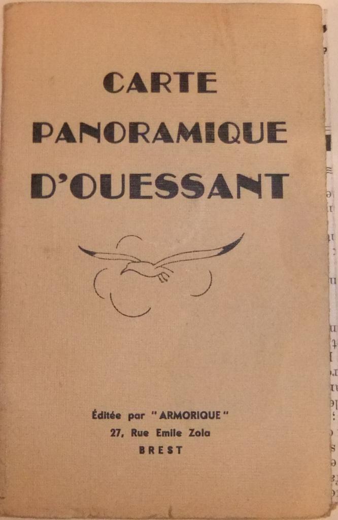 Carte panoramique Ouessant