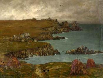 Charles Cottet Ouessant