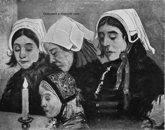 Cottet Charles Femmes d'Ouessant 1899