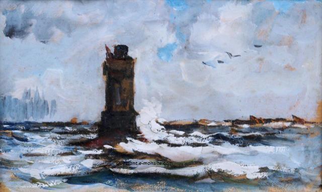 Lucien Victor Felix Delpy le phare de Kereon