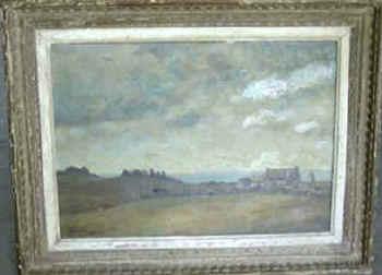 Roger Deverin Paysage d'Ouessant