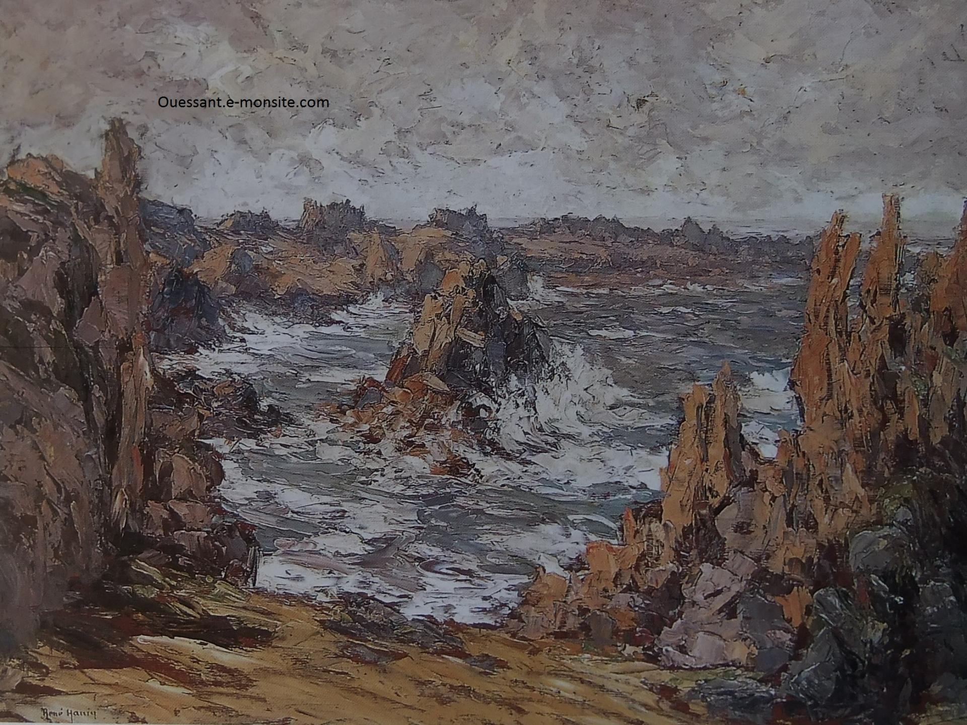 René HANIN Ouessant