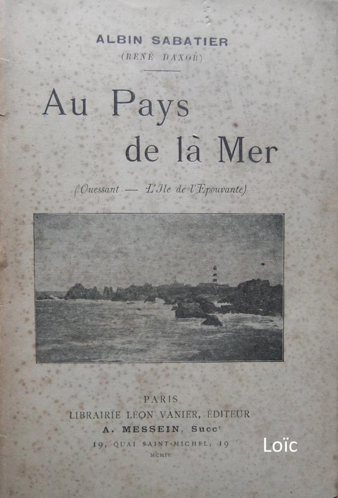 Au pays de la mer Sabatier
