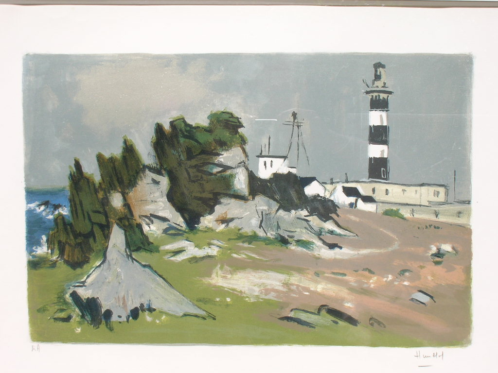 Le phare du Créach de Robert Humblot