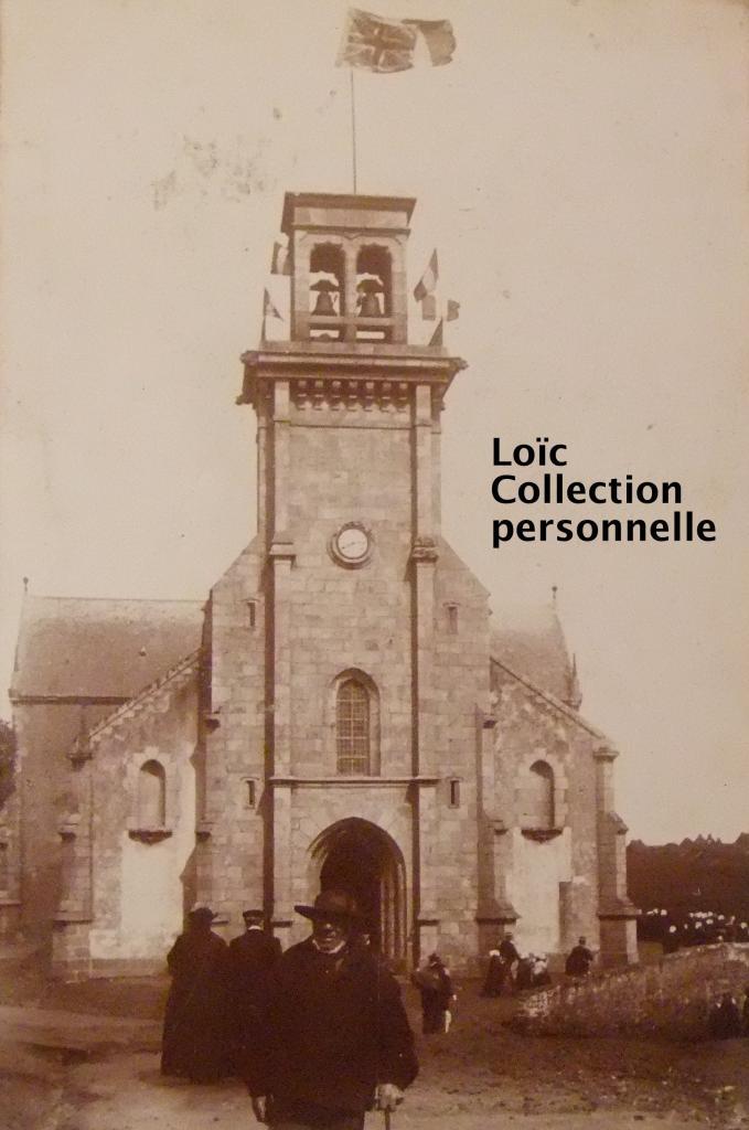 Eglise d'Ouessant le 28 avril 1897