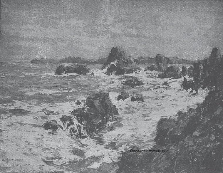 René Hanin Les rocs de Portz Millin