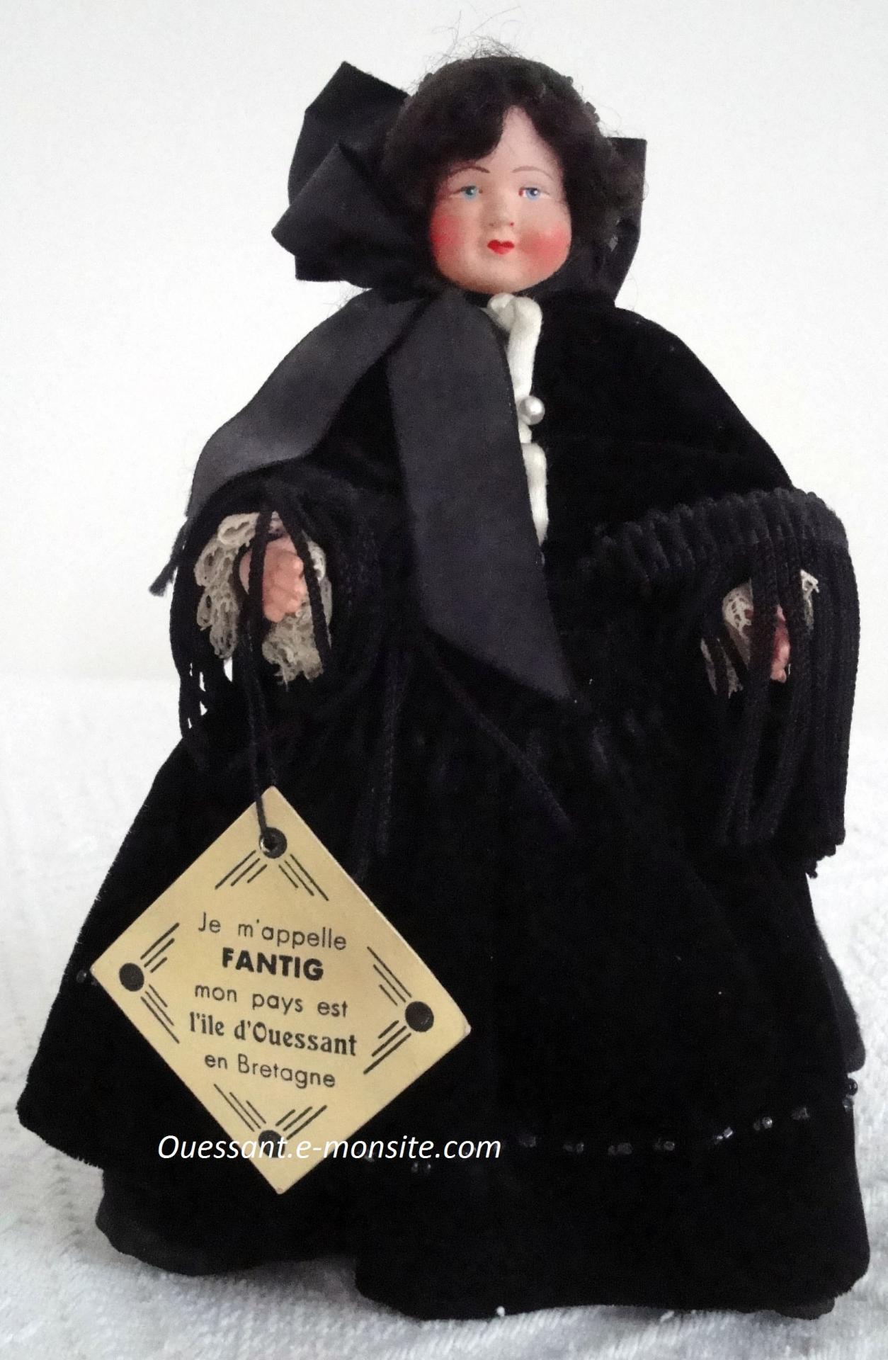 Iledouessant poupee20cm leminor fantig 1930