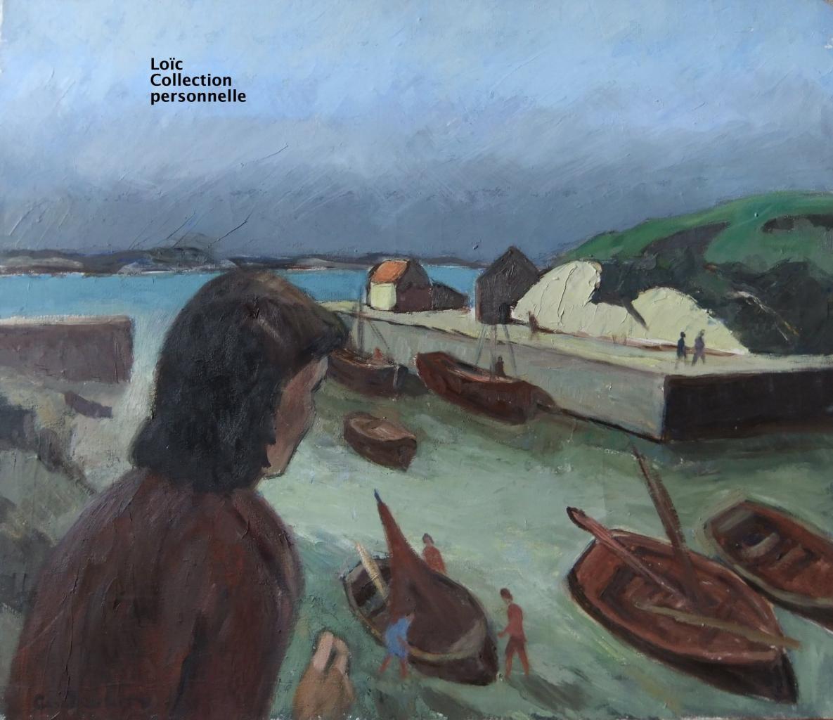 Joubin Georges Le port de Lampaul