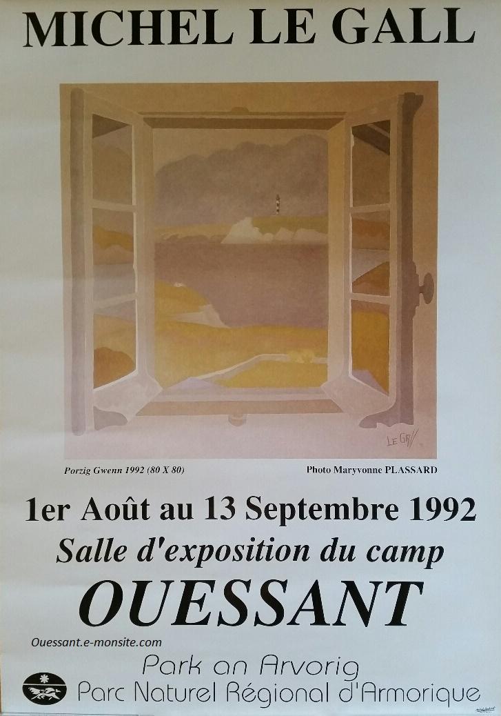 Le Gall exposition à Ouessant
