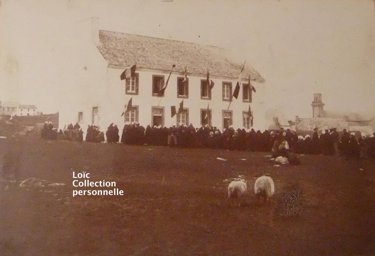 La mairie d'Ouessant