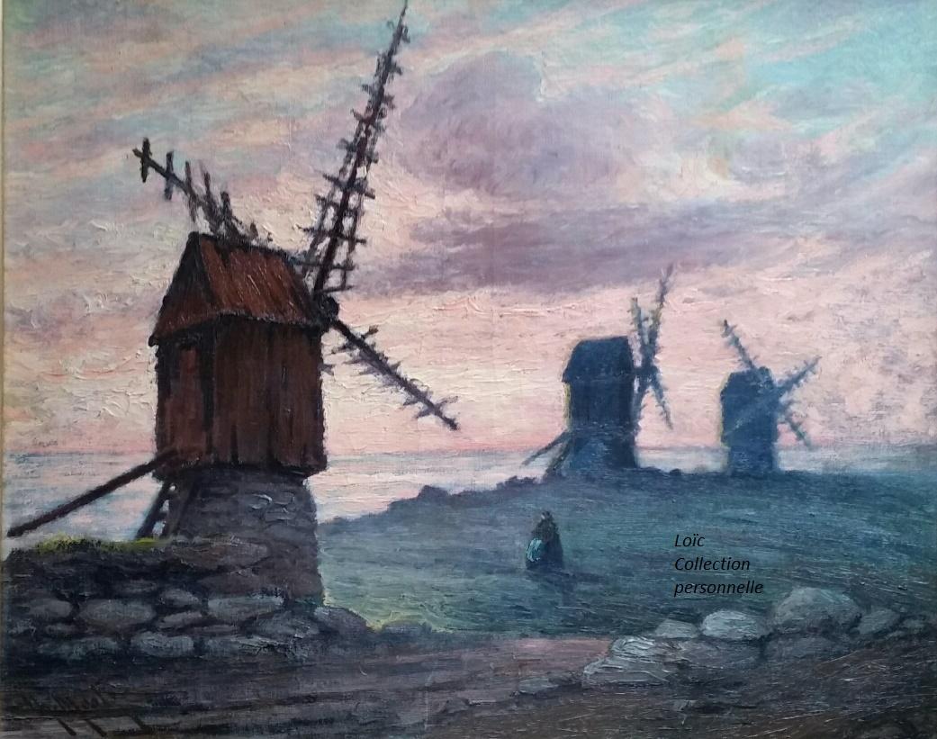 Ouessant Les petits moulins Mootz Charles