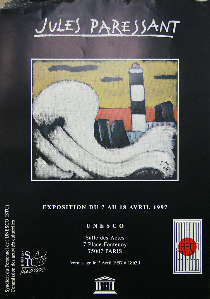 Paressant affiche Ouessant Unesco 1997