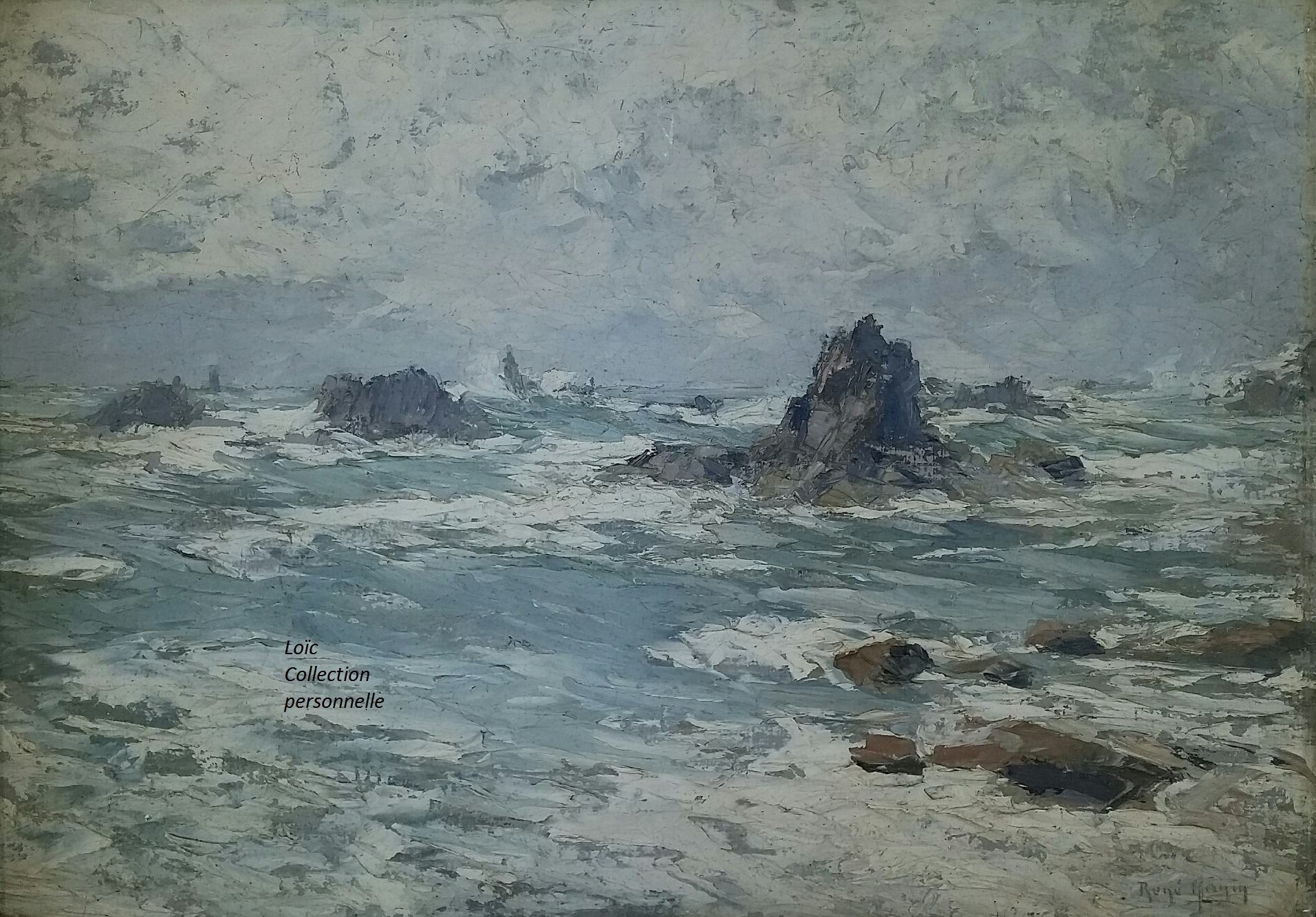 René Hanin Rochers de Pern