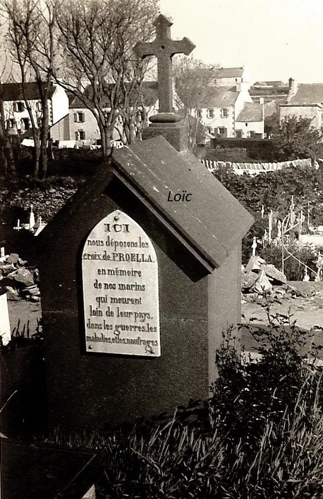 Ouessant cimetière