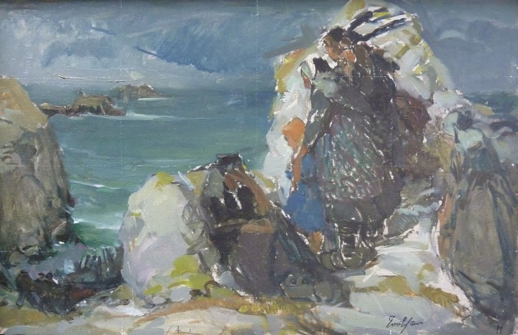 Simon emile hscontre 60x40 etude pour langoisse musse breton