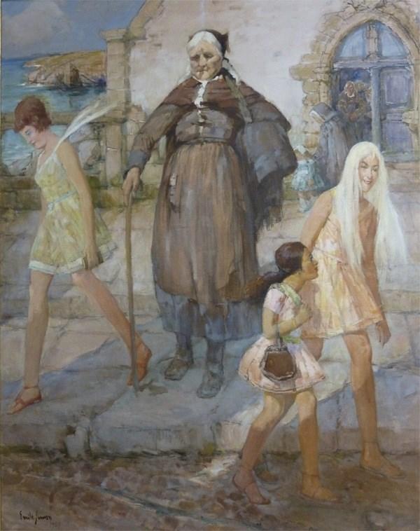 Simon emile le contraste hscontre 166x30 1969 musee breton