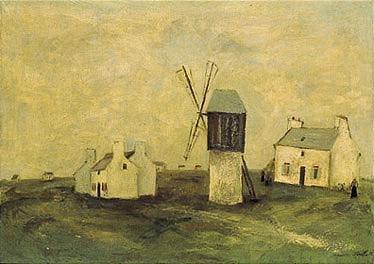 Utrillo Moulin à Ouessant